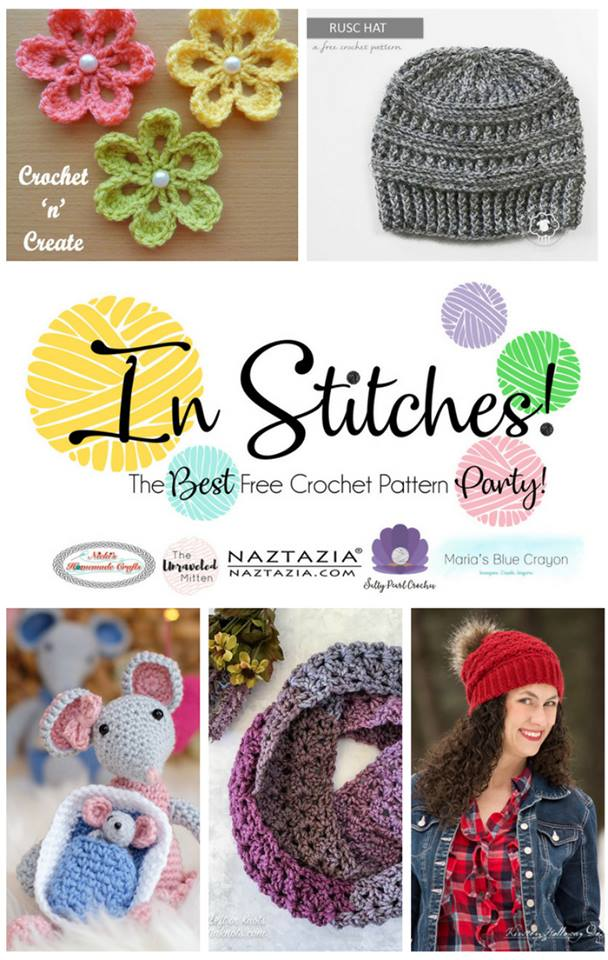 In Stitches: Best Free Crochet Pattern Party | Week 2 | Round Up of Winners
