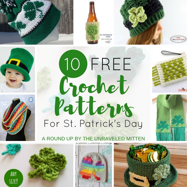 d05a2cd8364 10 Free Crochet Patterns for St. Patrick s Day