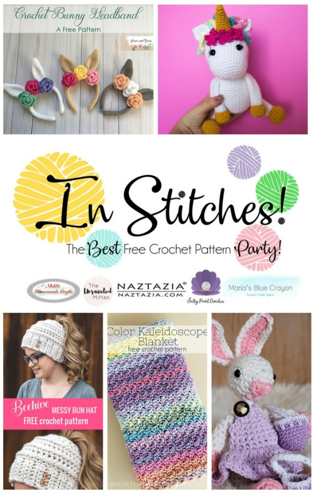 In Stitches: Best Free Crochet Pattern Party #7 | The Unraveled Mitten | Crochet Pattern Round Up