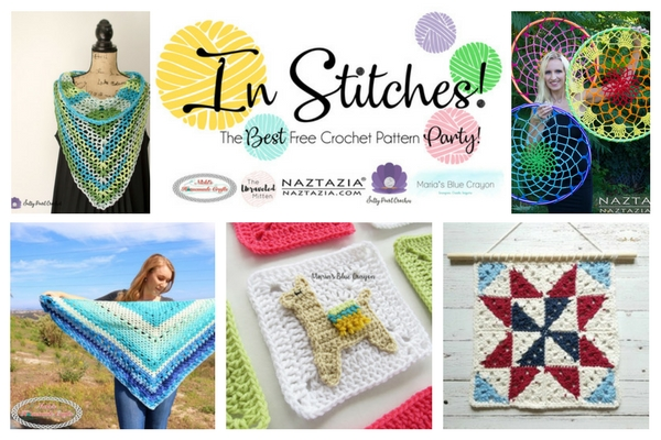 In Stitches Best Free Crochet Pattern Party #8 Round Up | The Unraveled MItten