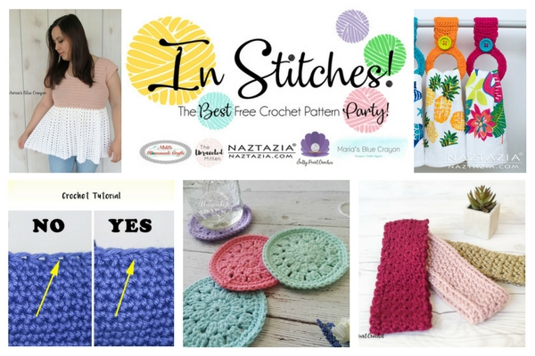 In Stitches Best Free Crochet Pattern Party 9 | The Unraveled Mitten