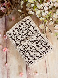 Lace Bible Cover | Mother's Day Crochet Pattern Round Up by The Unraveled Mitten