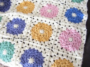 Spring Granny Afghan | Mother's Day Crochet Pattern Round Up by The Unraveled Mitten