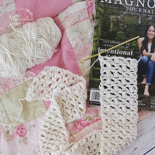 Easy Lace Scarf Free Crochet Pattern The Unraveled Mitten