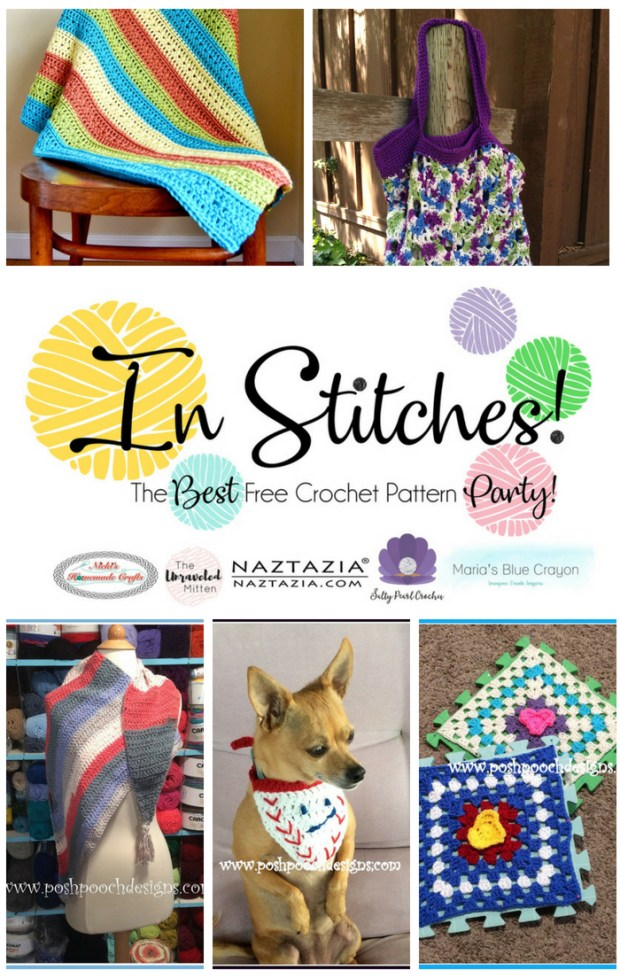 In Stitches Best Free Crochet Party | The Unraveled MIttem
