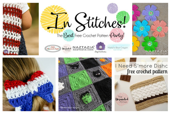 In Stitches #13 | Best Free Crochet Pattern Party | The Unraveled Mitten