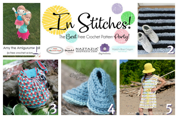 In Stitches #14 | Best Free Crochet Pattern Party | The Unraveled Mitten
