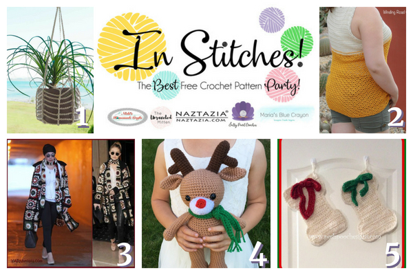 In Stitches Free crochet pattern party #15 | the Unraveled Mitten