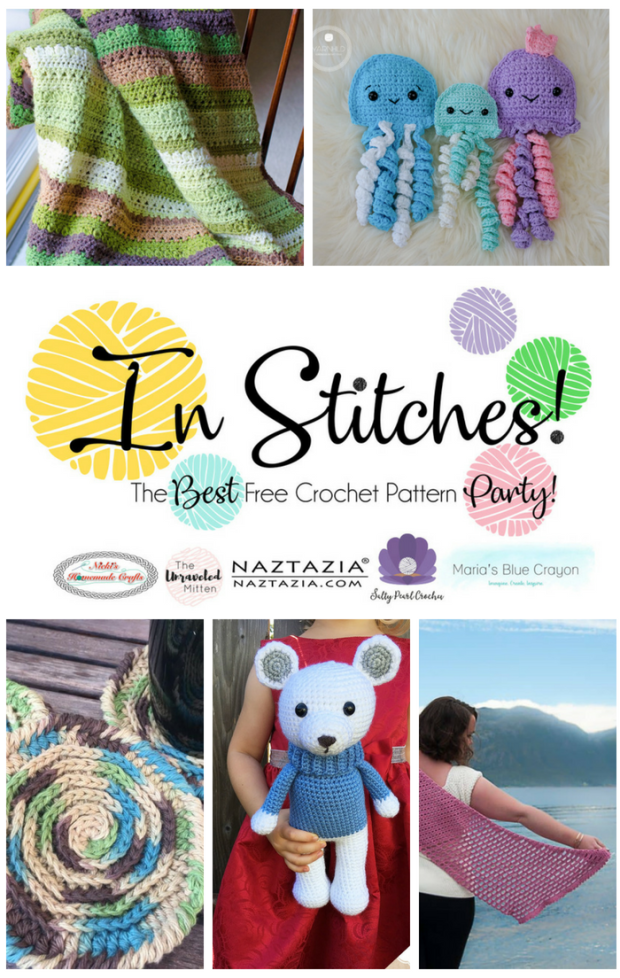 In Stitches   Best Free Crochet Pattern Party   The Unraveled Mitten