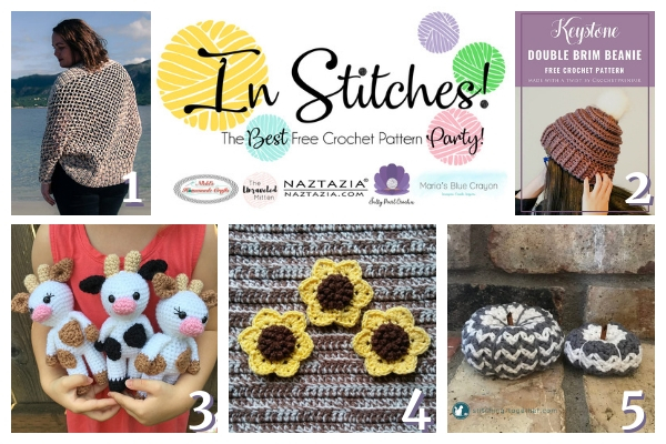 In Stitches Free Crochet Pattern Party #19 | The Unraveled Mitten
