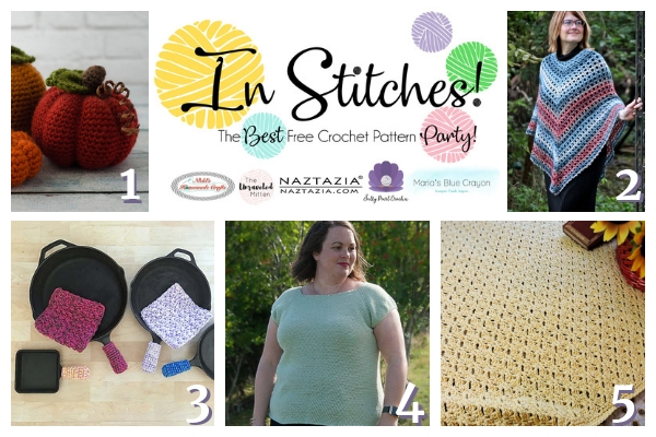 In Stitches #20 | Best Free Crochet Pattern Party | The Unraveled Mitten