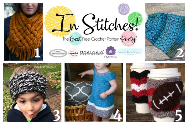 In Stitches #23 | Free Crochet Pattern Link Party | The Unraveled MItten