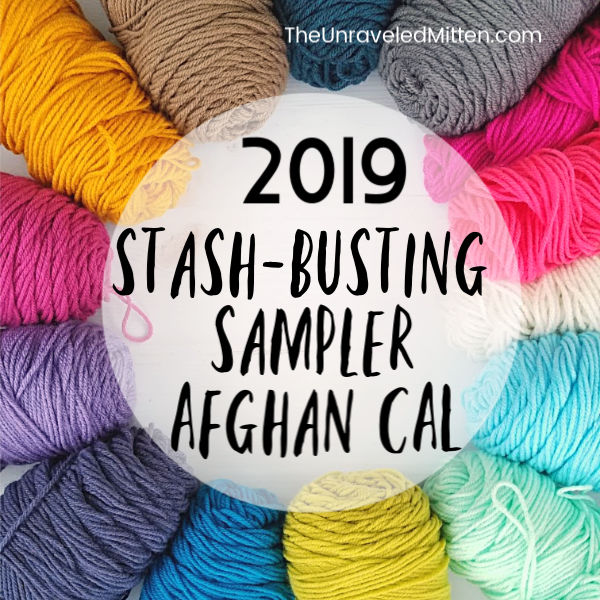 2019 Stash Busting Sampler Afghan Crochet Along