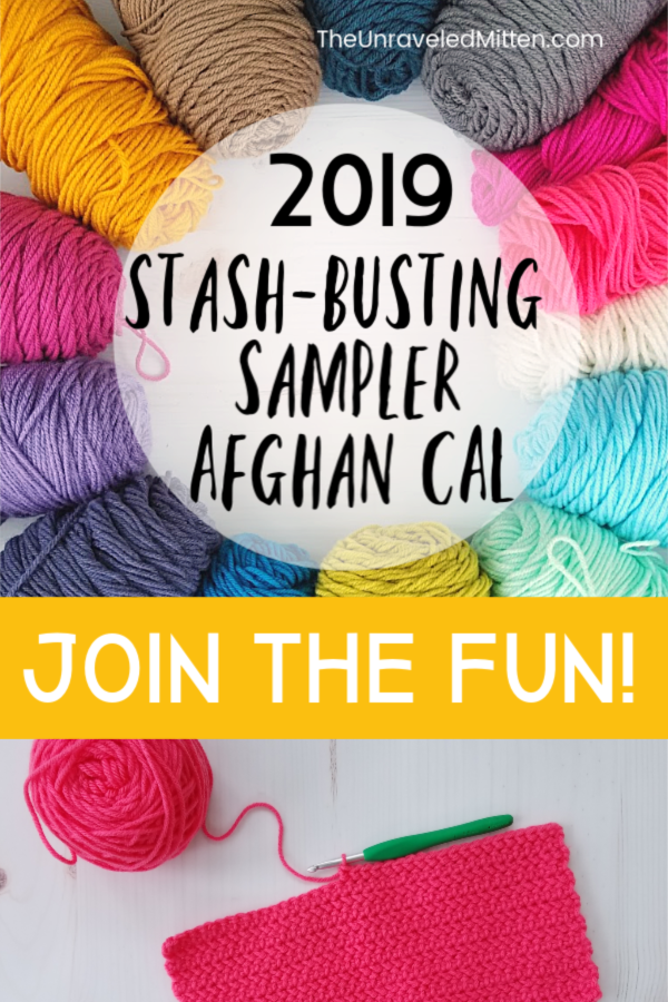 2019 Sample Afghan CAL | FREE Crochet pattern | The Unraveled Mitten