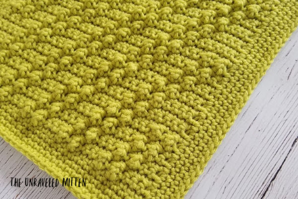 Diagonal Trip Crochet Stitch | Free Crochet Pattern | The Unraveled Mitten | 2019 Stash Busting CAL