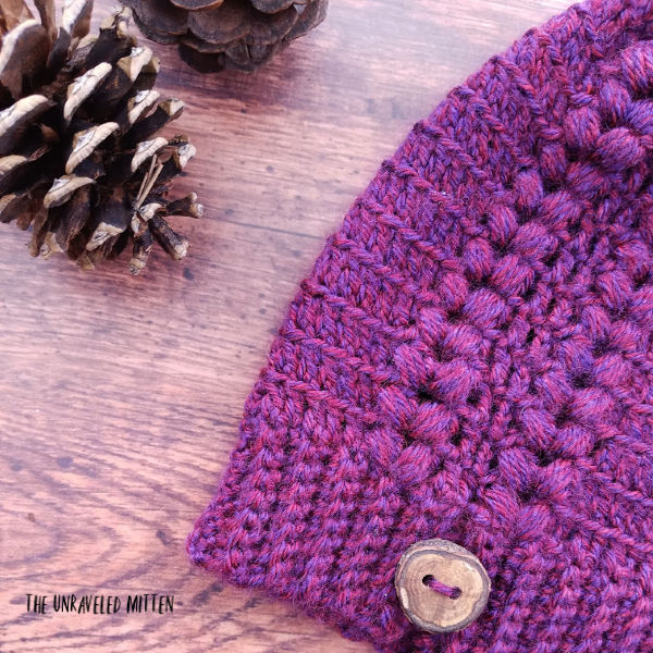 Fly Away Beanie | Free Crochet Pattern | The Unraveled Mitten