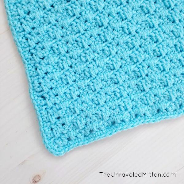 Granny Spike Stitch | Free Crochet Pattern | The Unraveled Mitten