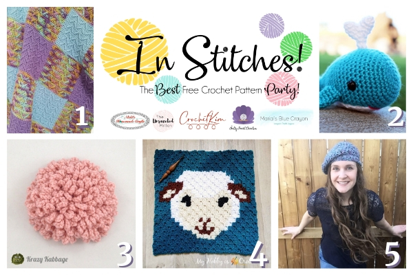 In Stitches Best Free Crochet Pattern Paty #35 | The Unraveled MItten