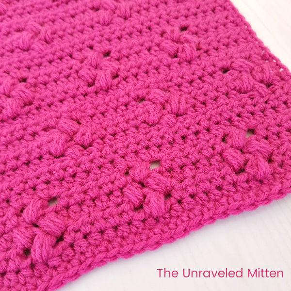 Tiny Flower Crochet Stitch Tutorial   The Unraveled Mitten