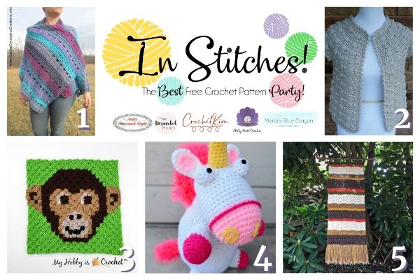 In Stitches #37 | Best Free Crochet Pattern Link Party