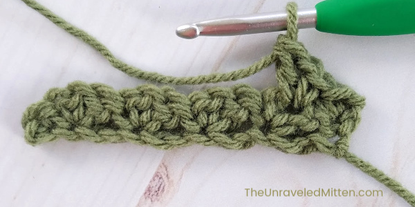 Wattle Stitch Crochet Tutorial | The Unraveled Mitten