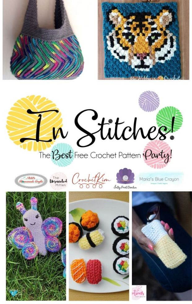 In Stitches #39 | Free Crochet Pattern Link Party | The Unraveled Mitten | Click to see the latest free crochet patterns!