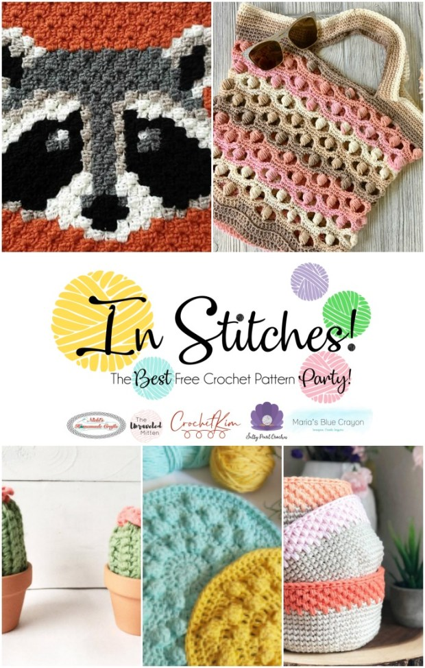 In Stitches #40 | Free Crochet Pattern Link Party | The Unraveled Mitten | Click to see the latest crochet patterns from your favorite designers!