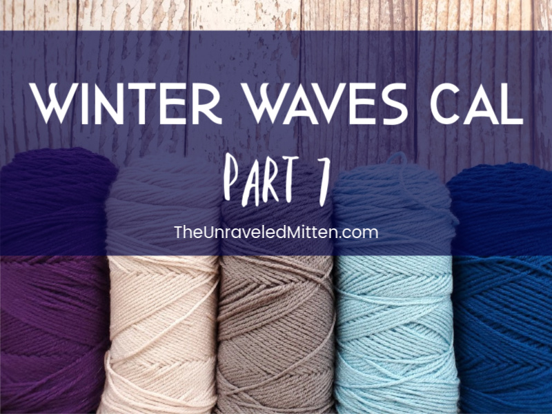 Winter Waves Quilt Inspired Throw Blanket Crochet Along