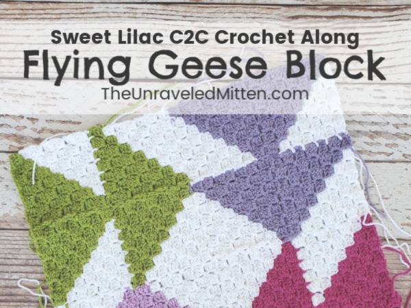 Sweet Lilac C2C Crochet Along