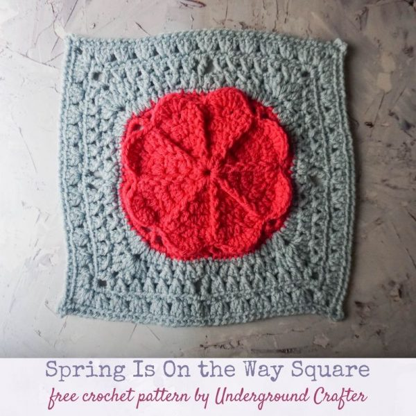 Spring is On the Way Square by Underground Crafter