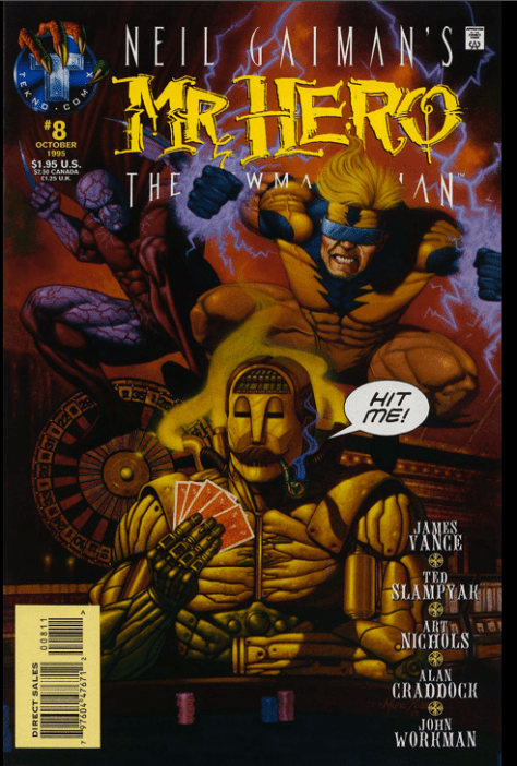 If every comic book cover looked like this, I would have started reading them a lot sooner.