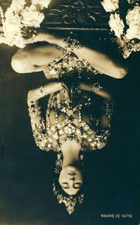 yogini Upside down