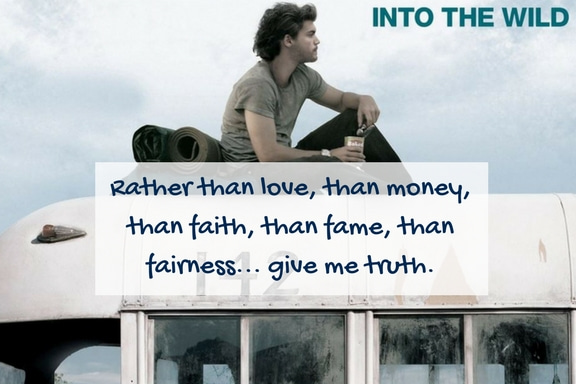 Into The Wild Quotes Amazing 14 Thought Shattering Quotes From 'into The Wild' That Will Set