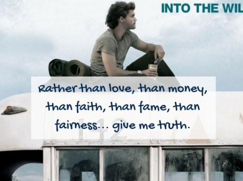 the unvisited into the wild quotes
