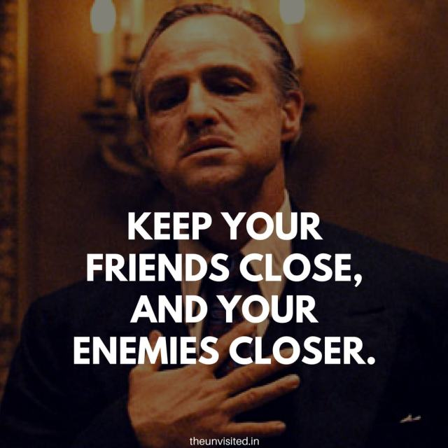 godfather quotes the unvisited movie hollywood Don Vito Corleone 10