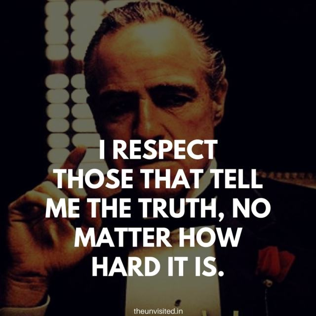 godfather quotes the unvisited movie hollywood Don Vito Corleone 3