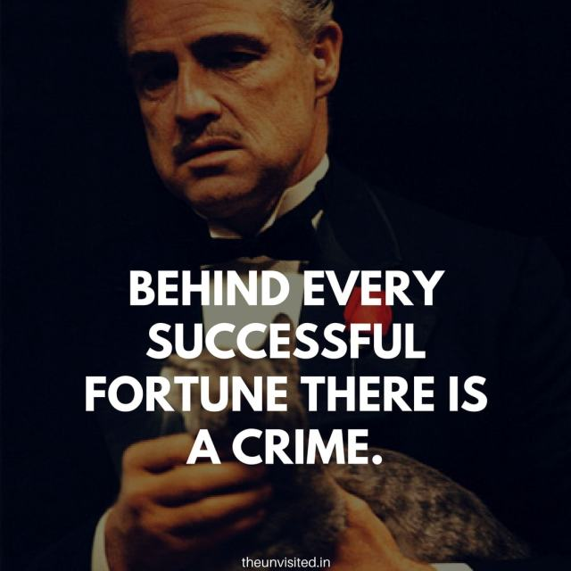 godfather quotes the unvisited movie hollywood Don Vito Corleone 9