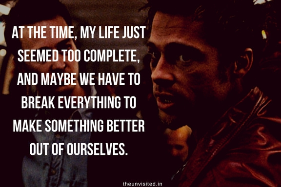 the unvisited fight club quotes brad pitt 8