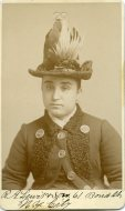 Ms. Arsena, a shover of counterfeit coin, was arrested on May 4, 1888 in New York City.