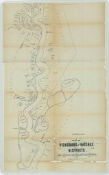 Plot of Vicksburg and Natchez Districts. For Leasing Abandoned Plantations., part 2