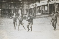 One-armed baseball team, Walter Reed Hospital. 165-WW-255A-88