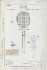C. Malings' Tennis Racket https://catalog.archives.gov/id/6104274