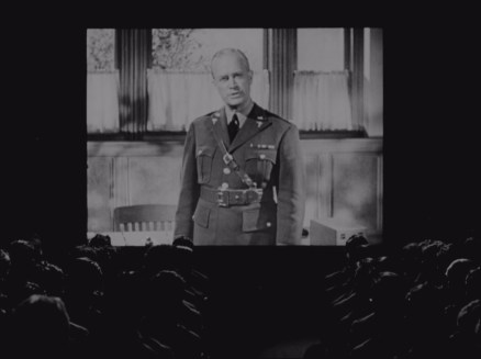 The majority of Sex Hygiene is presented as a film-within-a-film, with a lecture from a military doctor.
