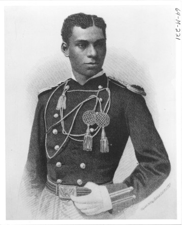 Henry Ossian Flipper: First African American to graduate from the United States Military Academy at West Point in 1877. (64-M-221)