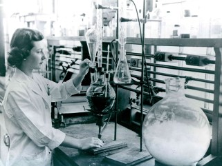 """Chemist."" Date Taken: May 23, 1958 (Local ID:174-55-G-2)"