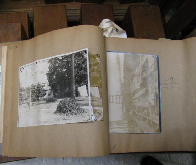 Original album used to store printed photos.