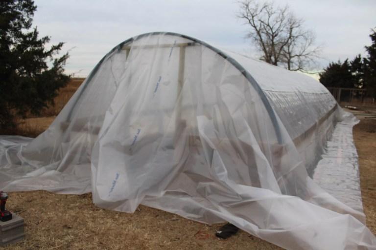 DIY greenhouse build