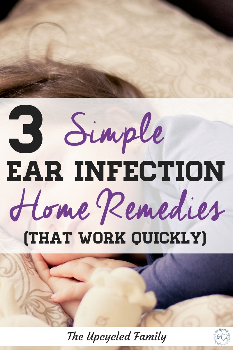 3 Natural Ear Infection Home Remedies Simple Quick