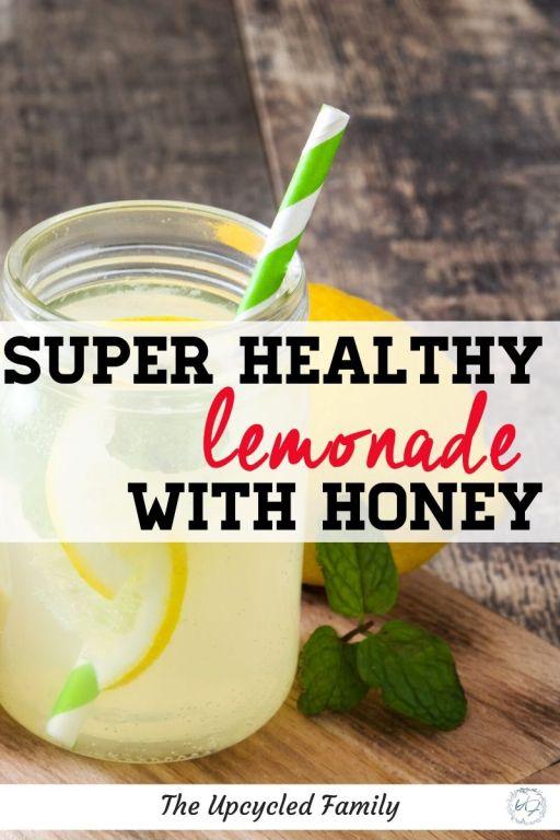 whole lemon lemonade recipe with honey