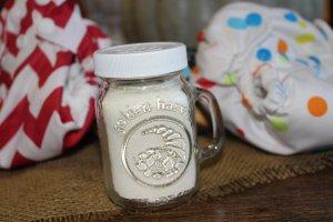 DIY herbal baby power
